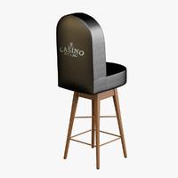Casino Poker Chair