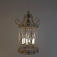 3ds max chandelier savoy house hispania