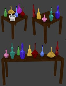 apothecary set 3ds
