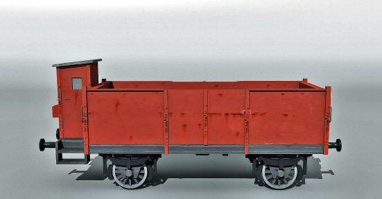 3dsmax german freightcar