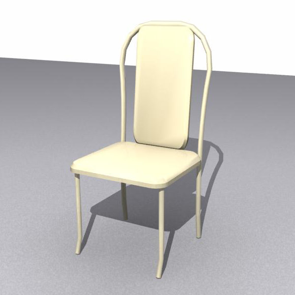chair dinning room 3d max