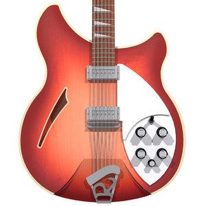 guitar rickenbacker 12 3d model