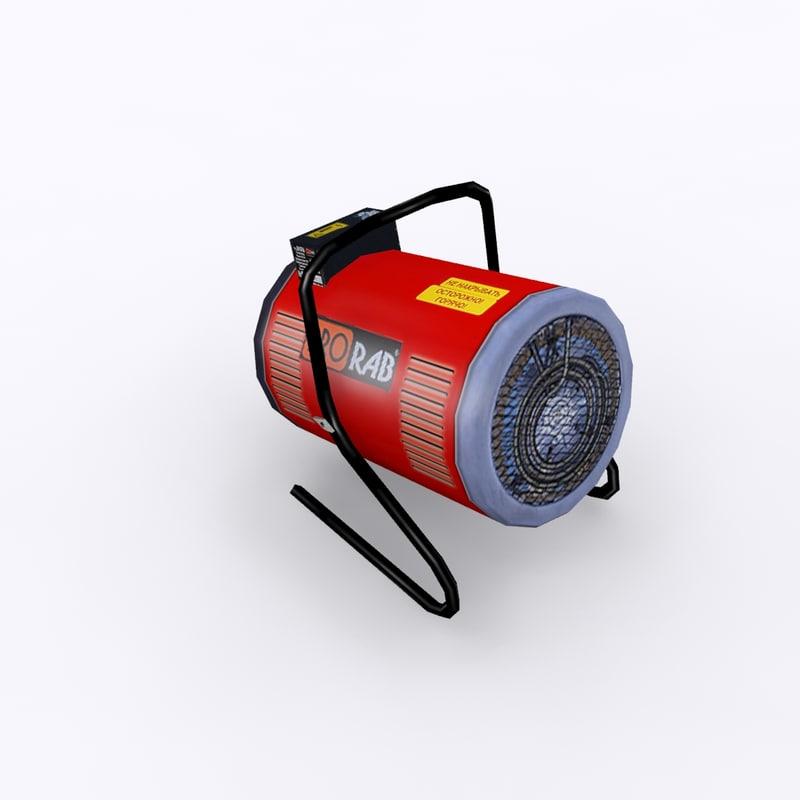 3d model heat gun