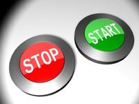 button start stop 3d model