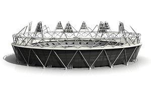 2012 olympic stadium 3d model