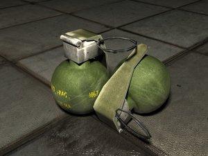 free 3ds mode m67 frag grenade