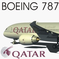 BOEING 787 QATAR AIRWAYS