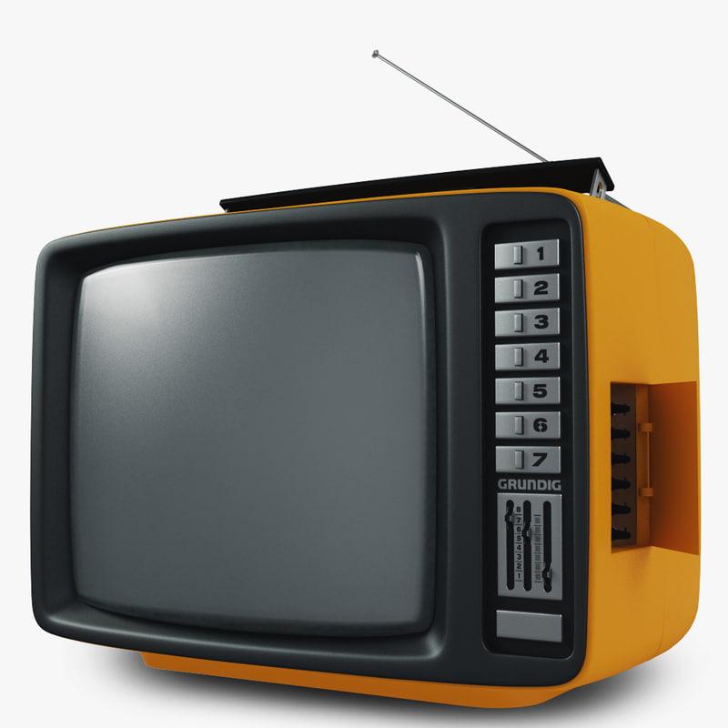 Retro TV and radio reciever