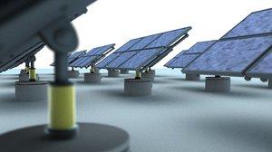 solar energy c4d