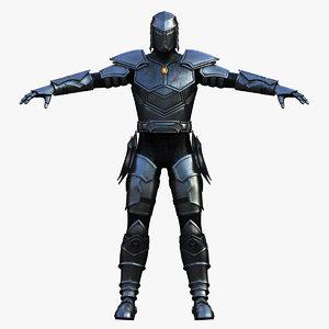 3d max thunder knight