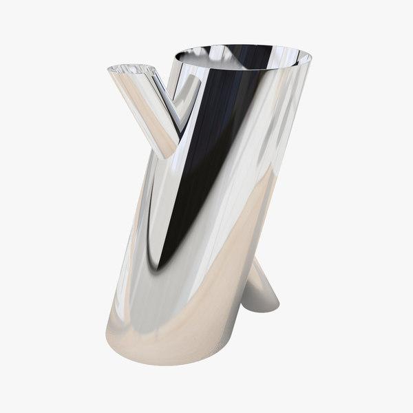 max design flower vase tronco