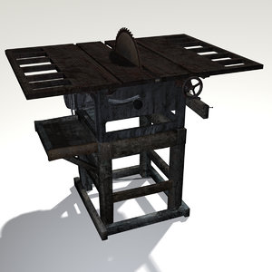 3d table saw rustic