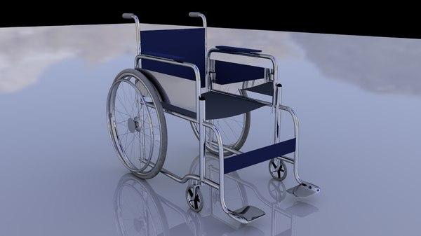 c4d wheelchair