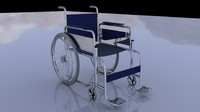 c4d wheelchair