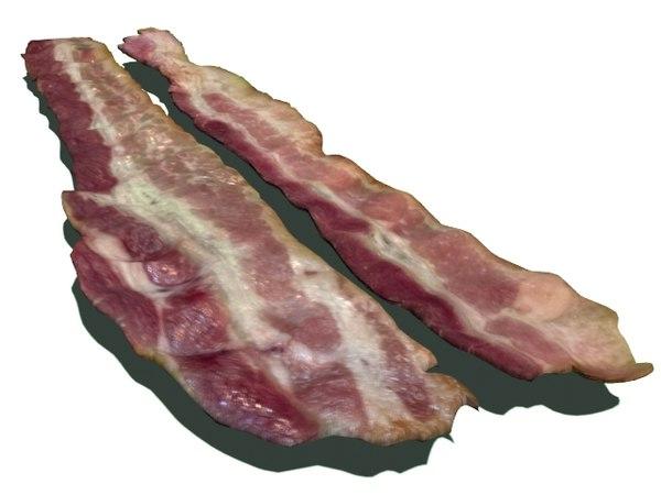 bacon 3d model