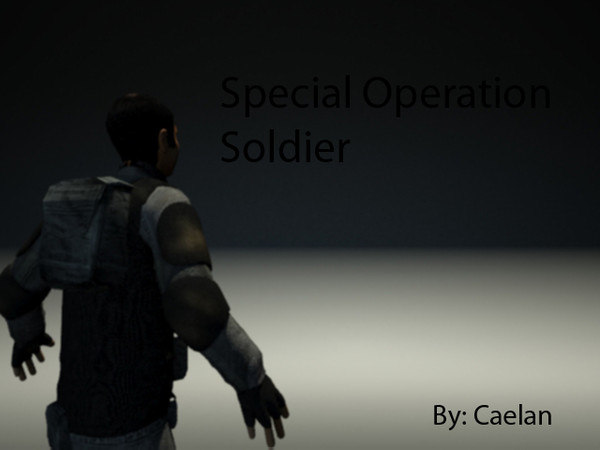 free 3ds model special operative soldier