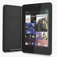 3d model of google nexus 7