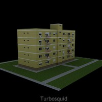 3ds max apartment house