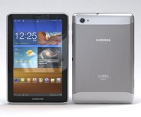 samsung p6800 galaxy tab 3d model