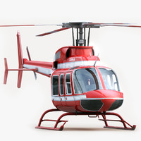 Bell 407 Red