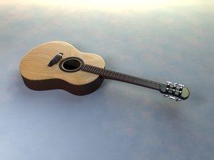 free ma model acoustic guitar simple