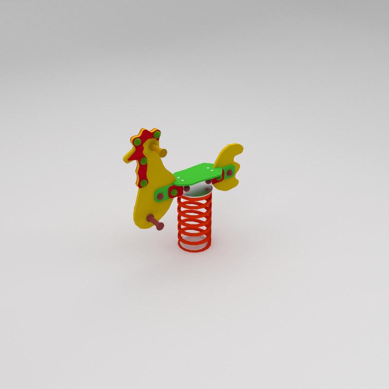 3dsmax toy springtoy spring