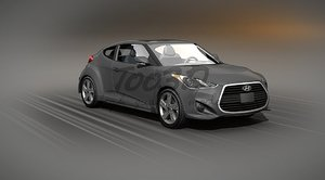 3ds max veloster turbo