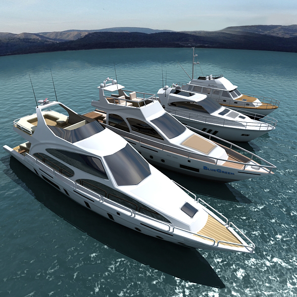 3ds realtime yachtes