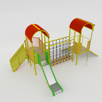 playful set 3d model