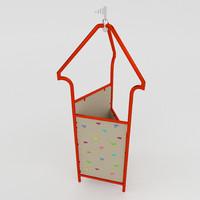 3d tower climbing model