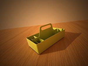 3d model toolbox storage