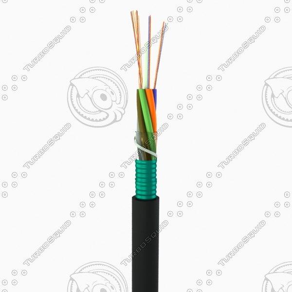 cable fiber 3ds
