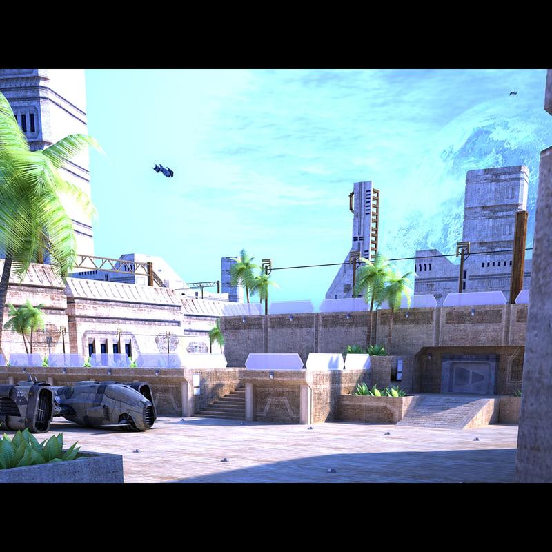 max city sci fi