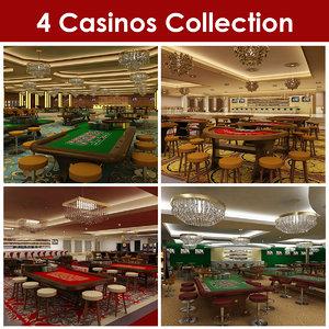 4 casinos 3d max