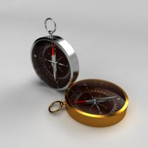 maya silver compasses