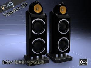 3ds max b w 800d