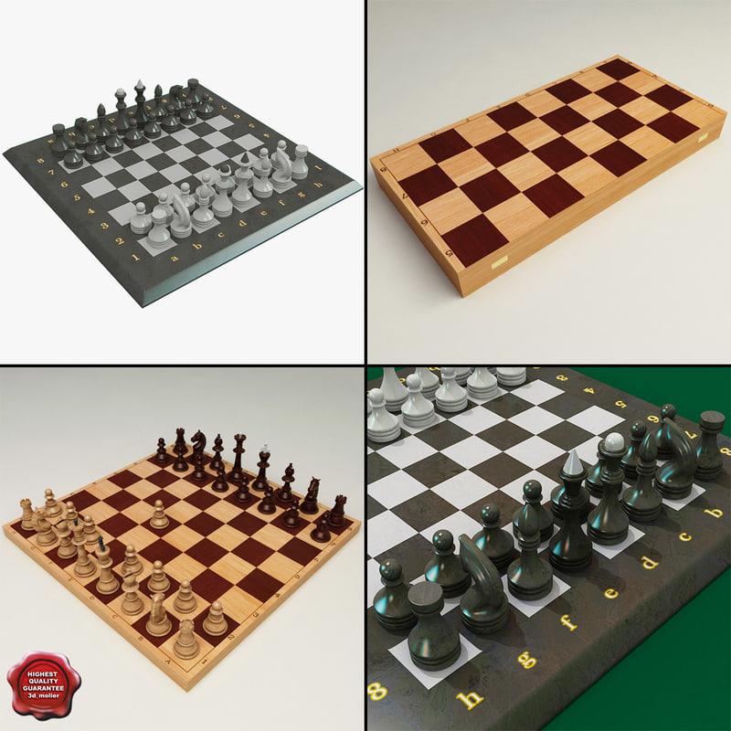 chess set 3ds