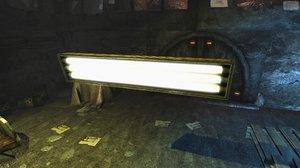 3ds max sci fi lamp
