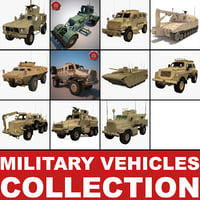 Military Vehicles Collection V2