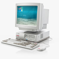 old pc compaq monitor 3ds