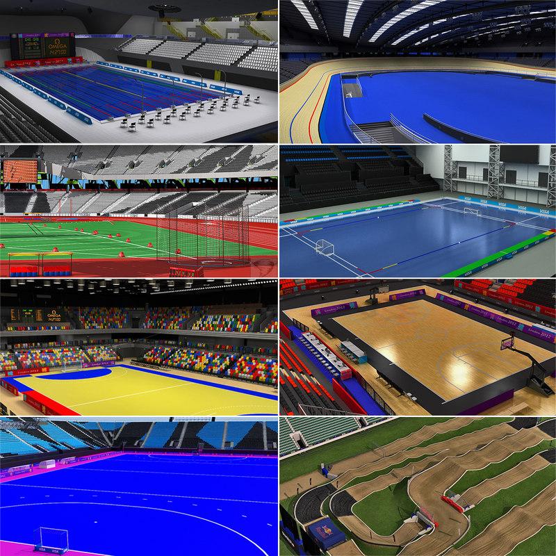 3d olympic park venues london