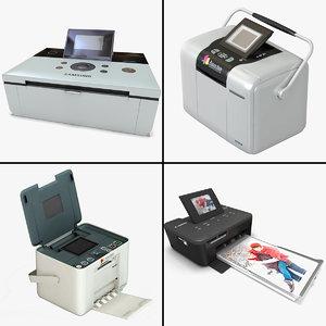printers v1 3d model