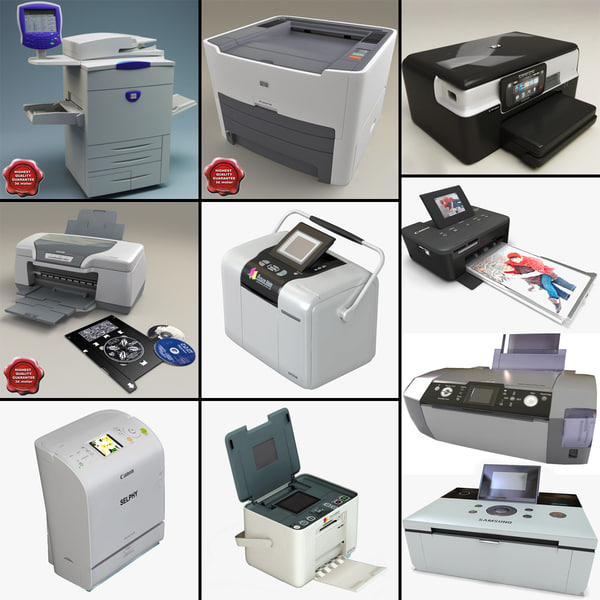 3d model printers set canon