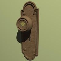 Victorian Door Knob