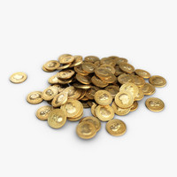 Small Heap of Gold Coins