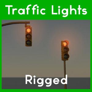 traffic light obj