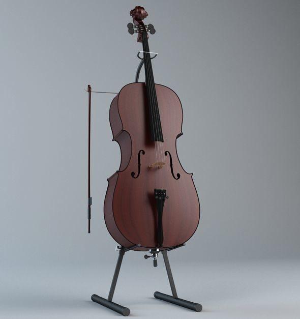 3d classical violin