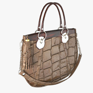 3d lady s handbag