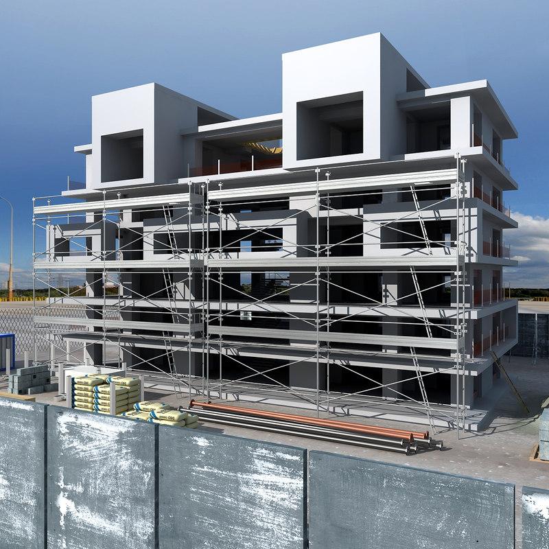 construction 3d 3ds