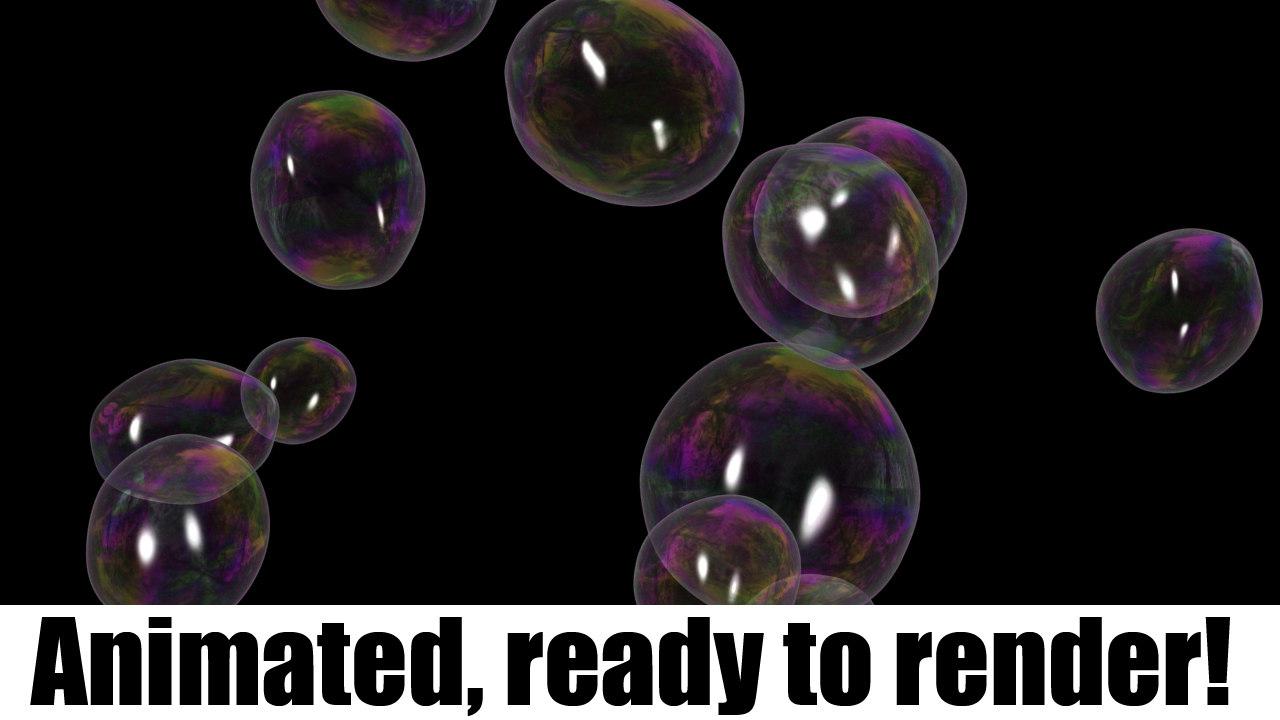 max soap bubbles